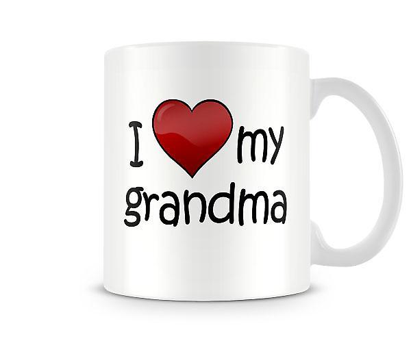 Amo la mia tazza stampata di nonna