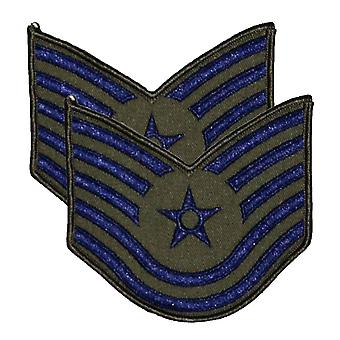 Gerangschikte MOD Air Force Naai de militaire Patch / Badge