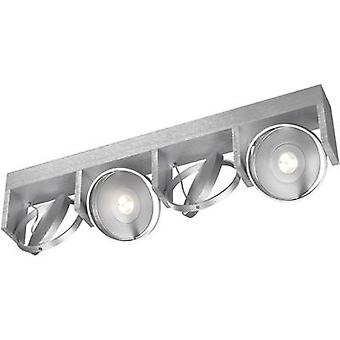 LED ceiling spotlight 24 W Warm white Philips Lighting Ledino 53154/48/16 Aluminium