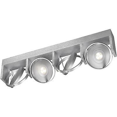 LED ceiling spotlight 24 W EEC  LED (A++ - E) Warm blanc Philips Lighting Ledino 53154 48 16 Aluminium