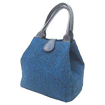 Tartan Handbag Z (Peacock Harris Tweed)