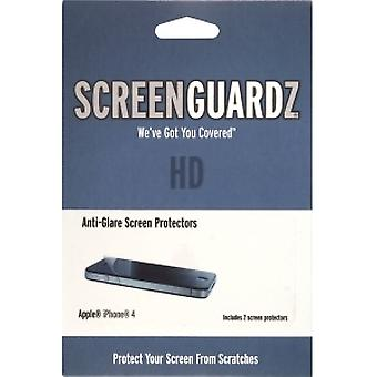 BodyGuardz ScreenGuardz HD Screen Protector with Anti Glare for Apple iPhone 4S/