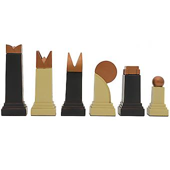SAC Art Deco Themed Chessmen