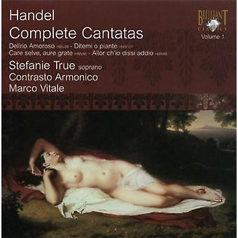 G.F. Haendel - Handel: Intégrale des cantates, importation USA Vol. 1 [CD]