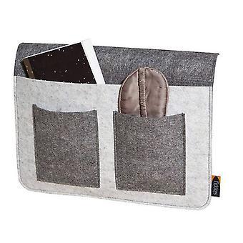 Bed Butler grå sofa sofa Butler sofa Butler Organizer sofa armlæn opbevaring