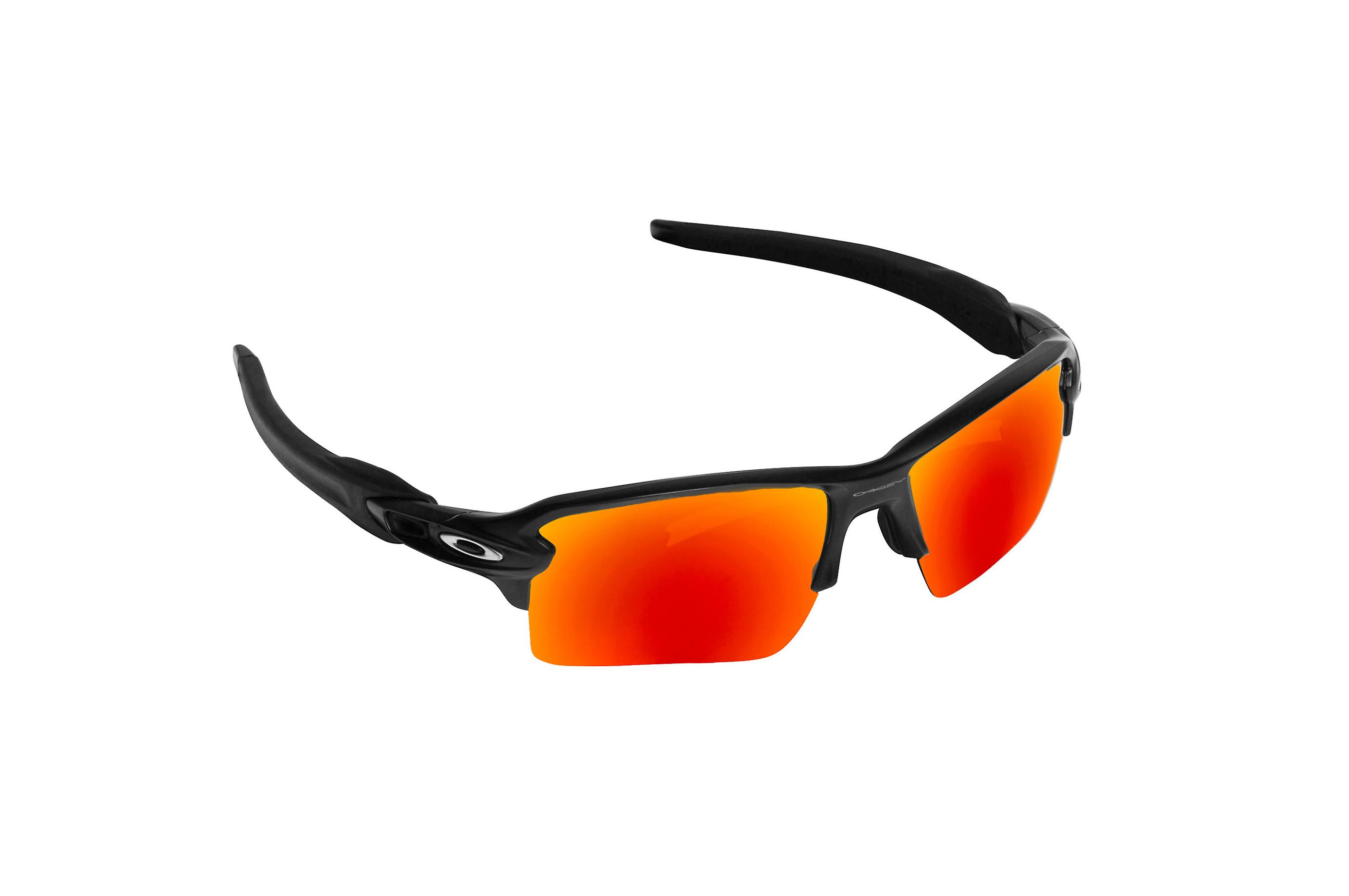 dff8674b59 FLAK 2.0 XL Replacement Lenses Red Mirror by SEEK fits OAKLEY Sunglasses