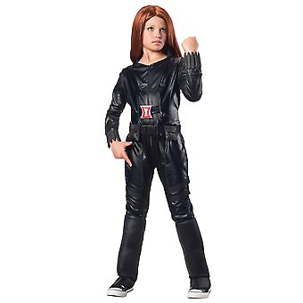 Black Widow Captain America Heroin Girls Costume