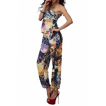 Waooh - Fashion - floral printed long Combination
