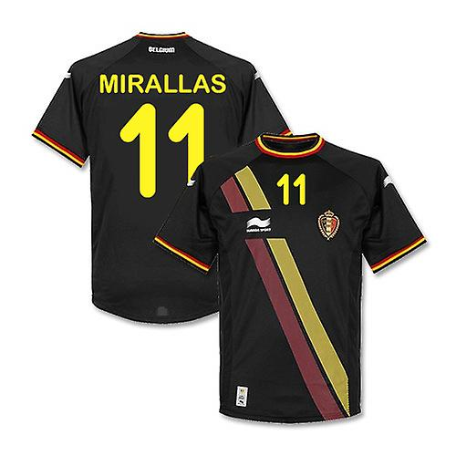 2014-15 België World Cup Away Shirt (Mirallas 11)