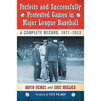 Perde e protestou com êxito jogos da Major League Baseball - A