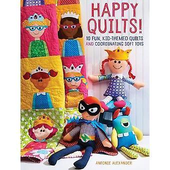 Courtepointes heureux! -10 fun - enfant sur le thème Quilts et coordination peluches