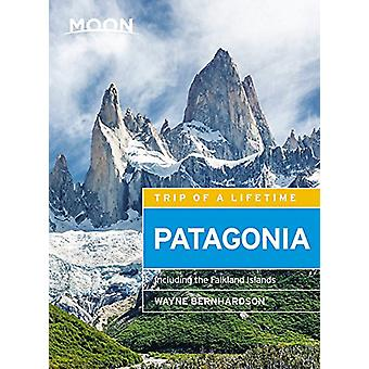 Moon Patagonia (Fifth Edition) - Including the Falkland Islands by Way