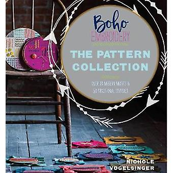 Boho Embroidery - The Pattern Collection - Over 30 Modern Motifs &