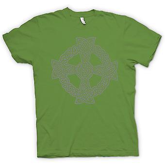 Mens T-shirt - Celtic Cross 1 - Tattoo Design