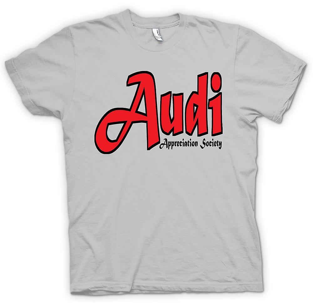 Herren T-Shirt - Audi Appreciation Society