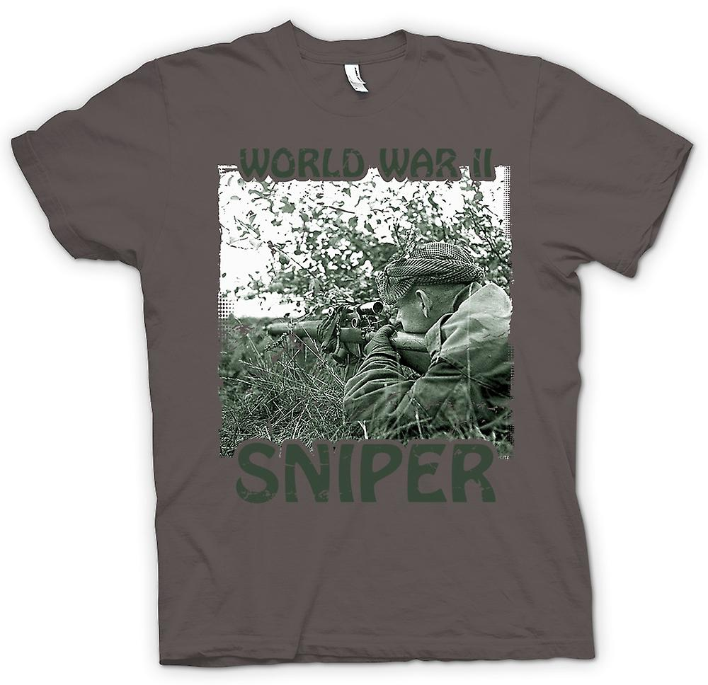 Womens T-shirt - World War 2 Sniper - Infantry