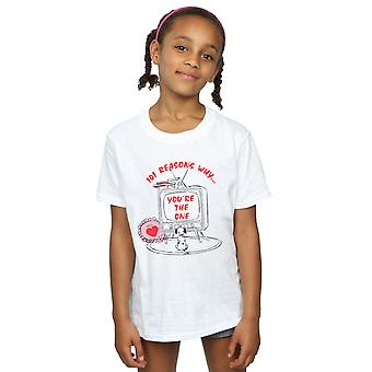 Disney jenter 101 dalmatinere TV t-skjorte