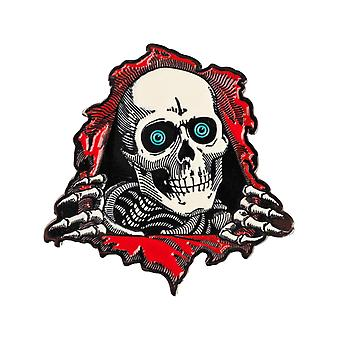 Powell Peralta Red Ripper Lapel Pin Badge