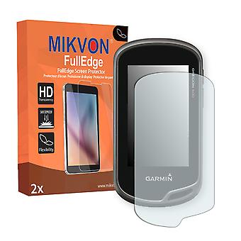 Garmin Oregon 650 screen protector - Mikvon FullEdge (screen protector with full protection and custom fit for the curved display)