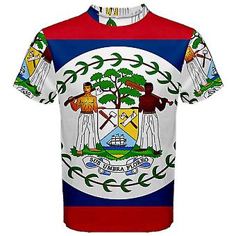 Belize Coat of Arms Sublimated Sports Jersey