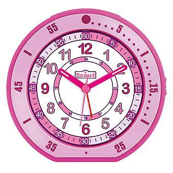Scout children alarm clock alarm girl minute pink 280001001