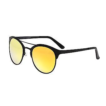 Breed Phoenix Titanium Polarized Sunglasses - Black/Yellow
