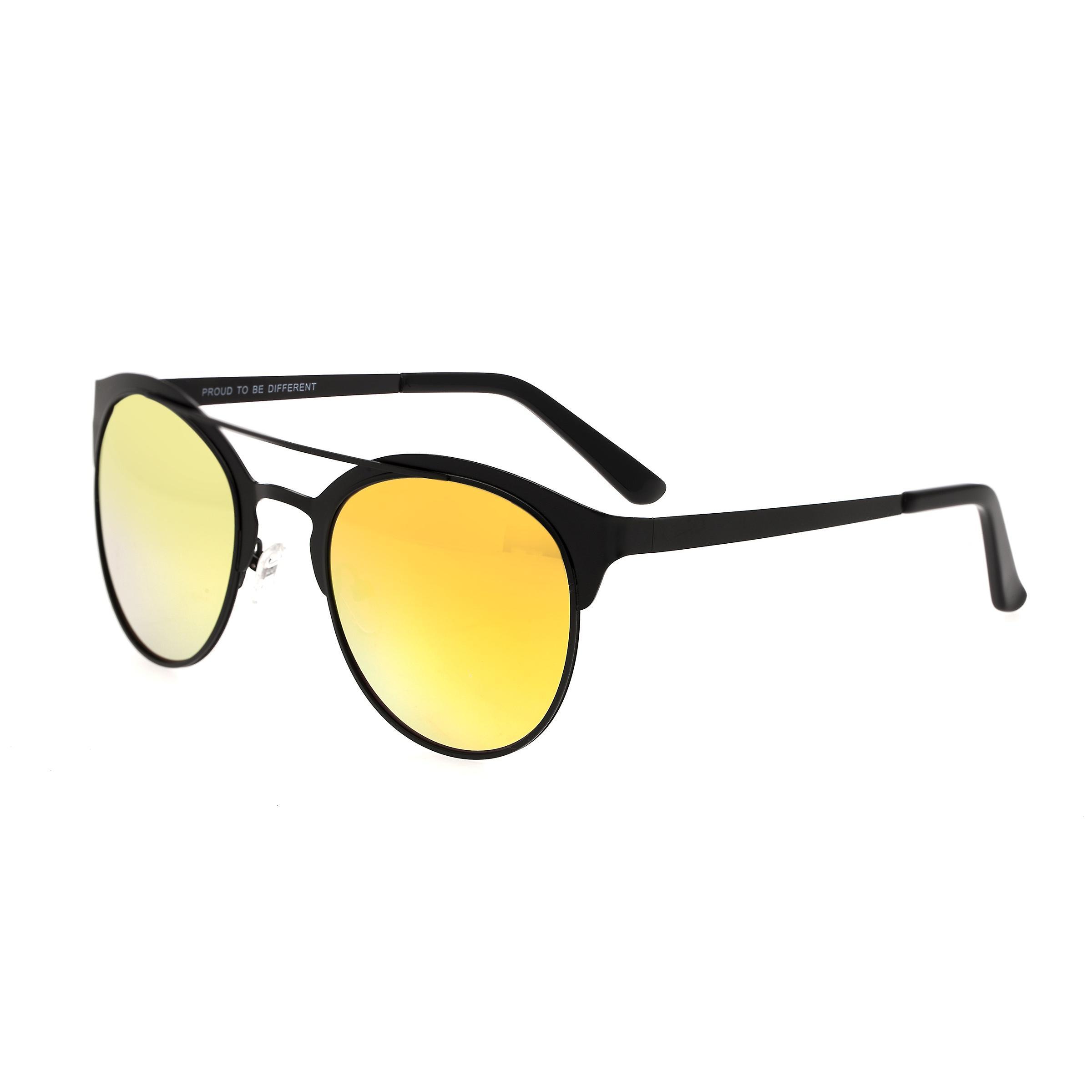 Breed Phoenix Titanium Polarized Sunglasses - noir jaune