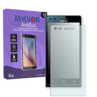 Huawei Ascend P7 mini Screen Protector - Mikvon AntiSun (Retail Package with accessories)