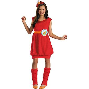 Elmo Sesamstraße Kinderkostüm