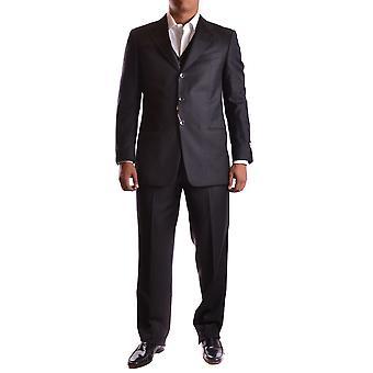 Armani Collezioni Grey Wool Suit
