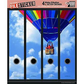 Plik naklejki Hot Air Balloon