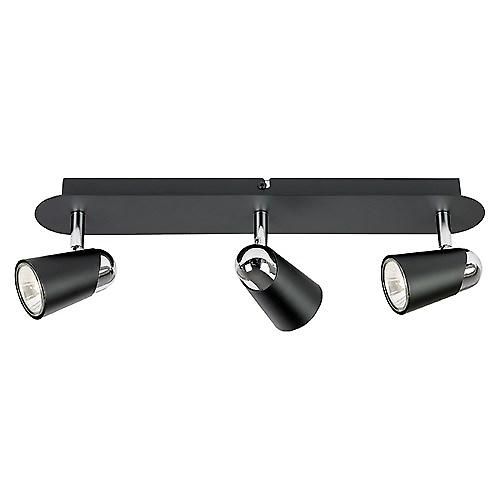 Saxby EL-10054 Civic 50W 3 Light Bar In Black