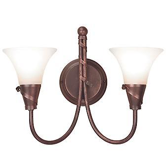 Elstead-2 lumière mur d'intérieur lumière cuivre-EM2 cuivre