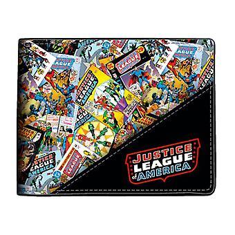 Justice League Comic Style Bi-Fold Wallet