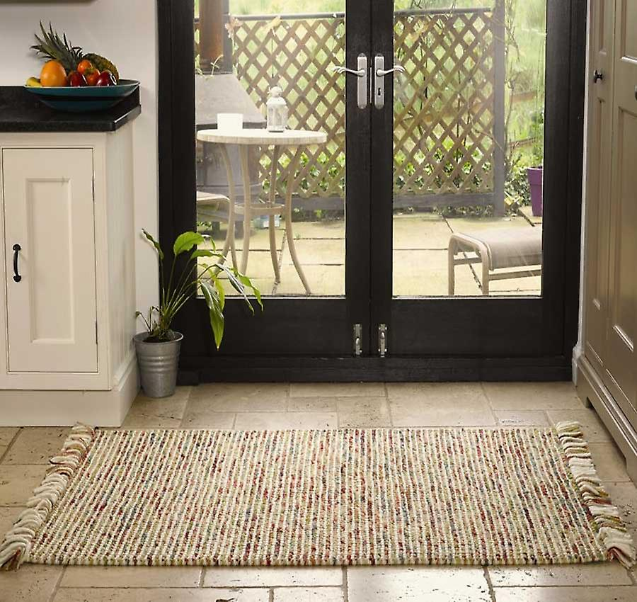 Rugs - Retreat Maya - Terracotta & Green