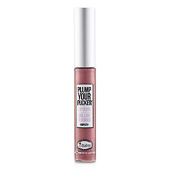 Thebalm Plum Your Pucker Lip Gloss - # Amplify - 7ml/0.237oz
