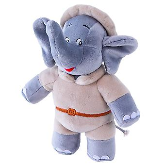 Jazwares Benjamin elefanten på Safari plysch leksak