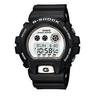 Casio G-Shock XL Men es Black Alarm Chronograph Watch GD-X6900-7ER