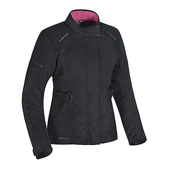 Oxford Stealth-Black Dakota 2.0 Chaqueta de moto para mujer