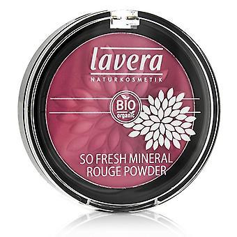 Lavera So Fresh Mineral Rouge Powder - # 04 Pink Harmony Velvet 5g/0.2oz