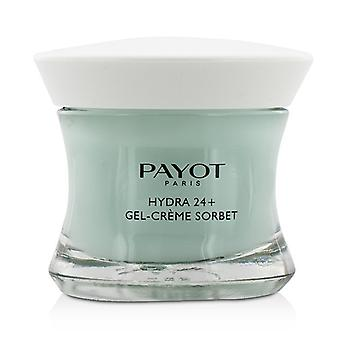 Payot Hydra 24+ Gel-Creme Sorbet Plumpling Moisturing Care - For Dehydrated, Normal to Combination Skin 50ml/1.6oz