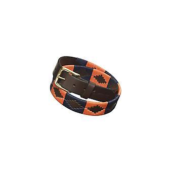 Pampeano Audaz Leather Polo Belt Orange