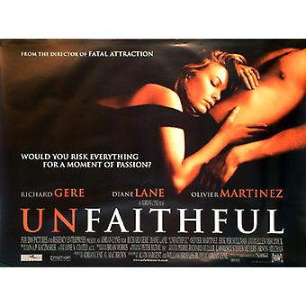 Unfaithful Original Cinema Poster