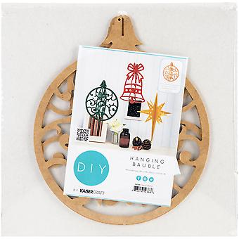 Beyond The Page MDF Round Bauble Ornament-11
