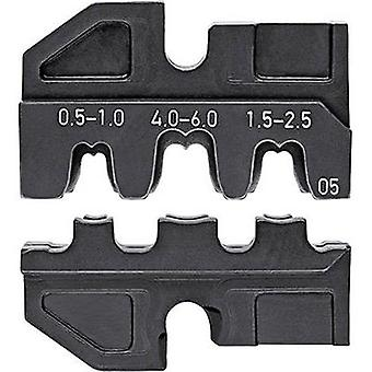 Crimp inset Non-insulated open end connectors 2.8/6.3 mm connector width 0.5 u
