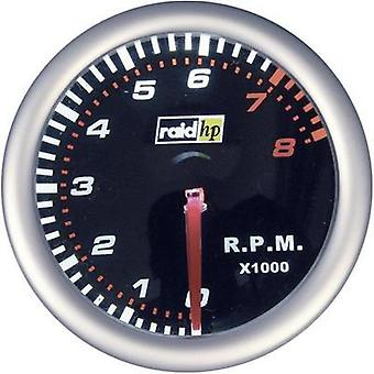 raid hp Tachometer 0 up to 8000rpm 12V