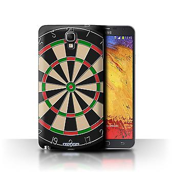 STUFF4 Case/Cover for Samsung Galaxy Note 3 Neo/Darts/Games