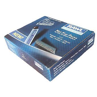 Rawlplug 2.8x63mm ring sølv galv søm 1100 + 1 brændselscelle