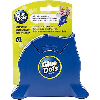 Glue Dot Desktop Roll Dispenser-Navy G32901