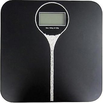 Digital bathroom scales TFA Charleston Weight range=180 kg Black